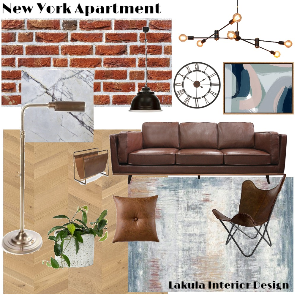 New York Interior Design Mood Board by Lakula Interior Design on Style Sourcebook