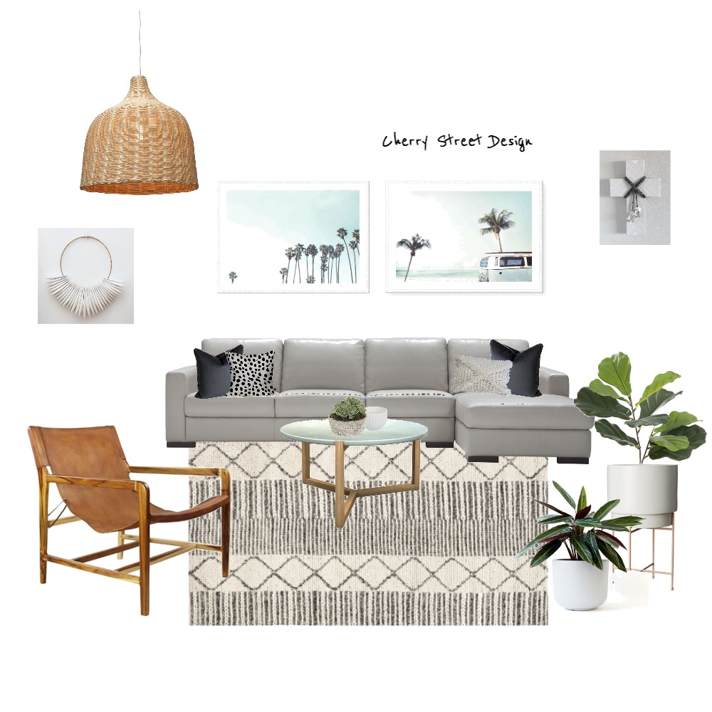 Coastal Living Interior Design Mood Board by EKT on Style Sourcebook