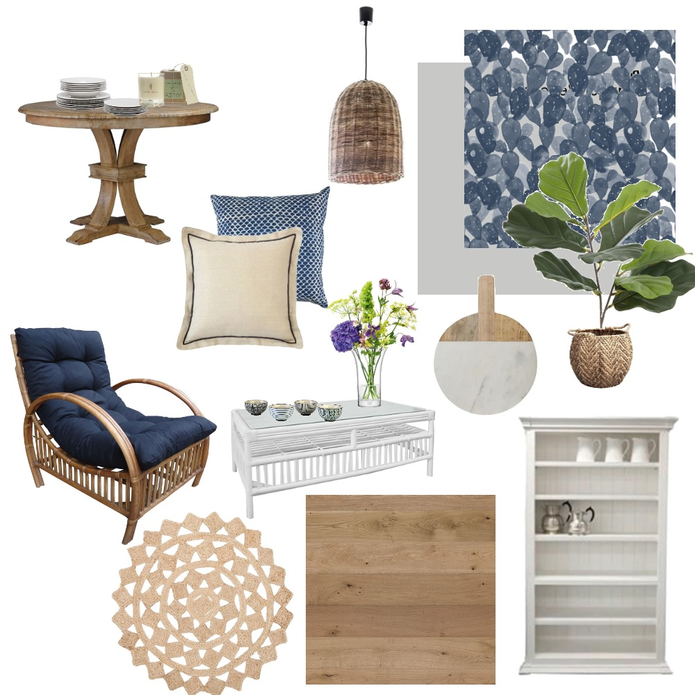 Hamptons Concept 1 Interior Design Mood Board by The Cali Design  on Style Sourcebook