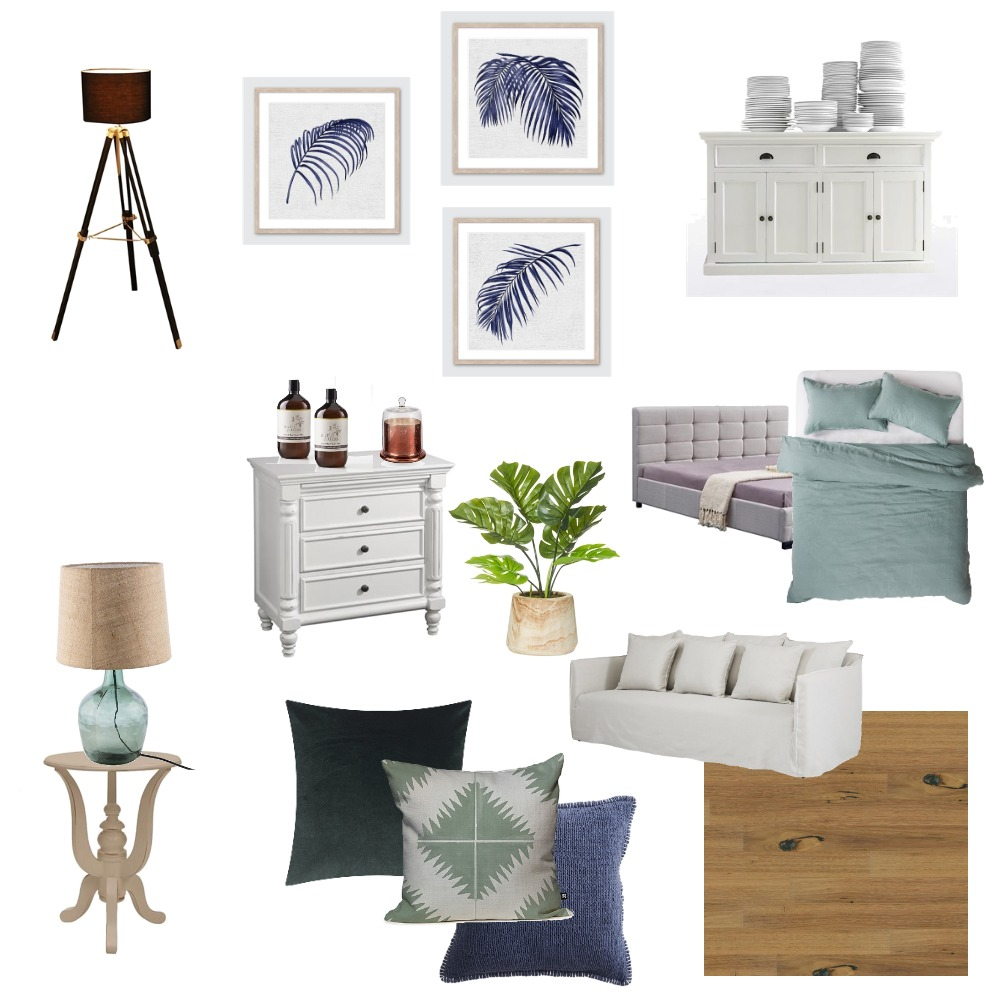 Hamptons Concept 2 Interior Design Mood Board by The Cali Design  on Style Sourcebook