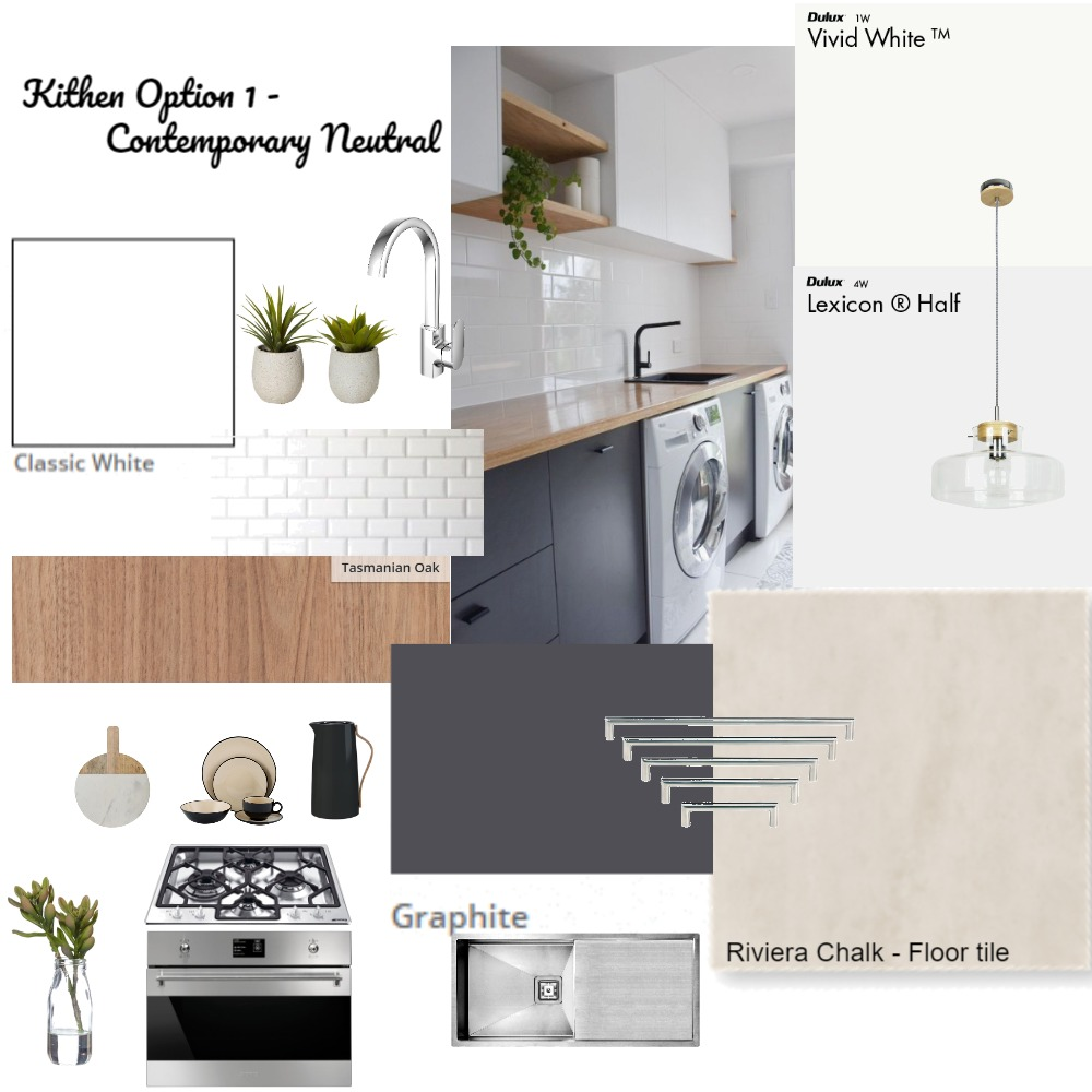 Mt Gravatt Kitchen - O1 Interior Design Mood Board by JennyTorrisi on Style Sourcebook