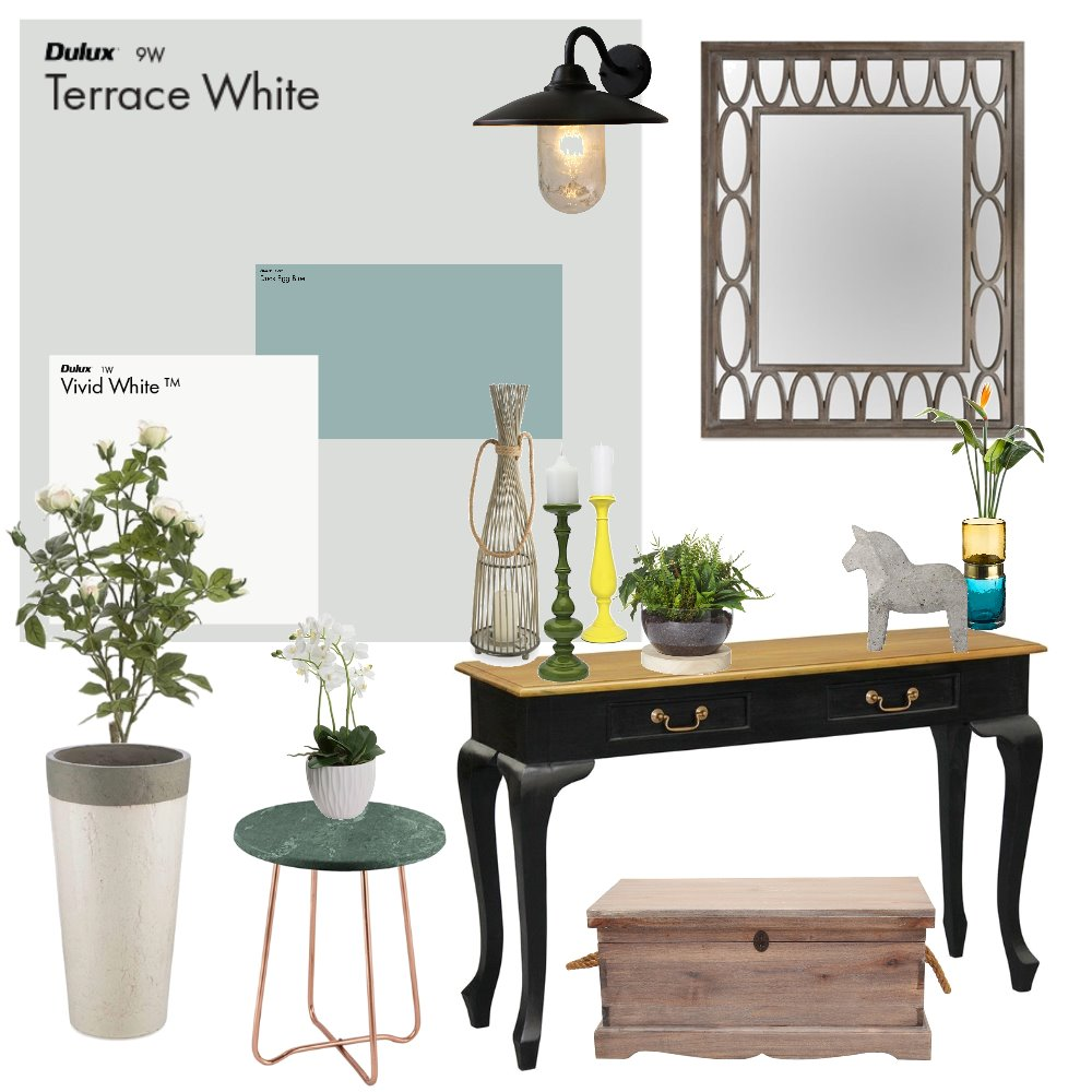 Entrance Vibe Interior Design Mood Board by PrimroseInteriors on Style Sourcebook