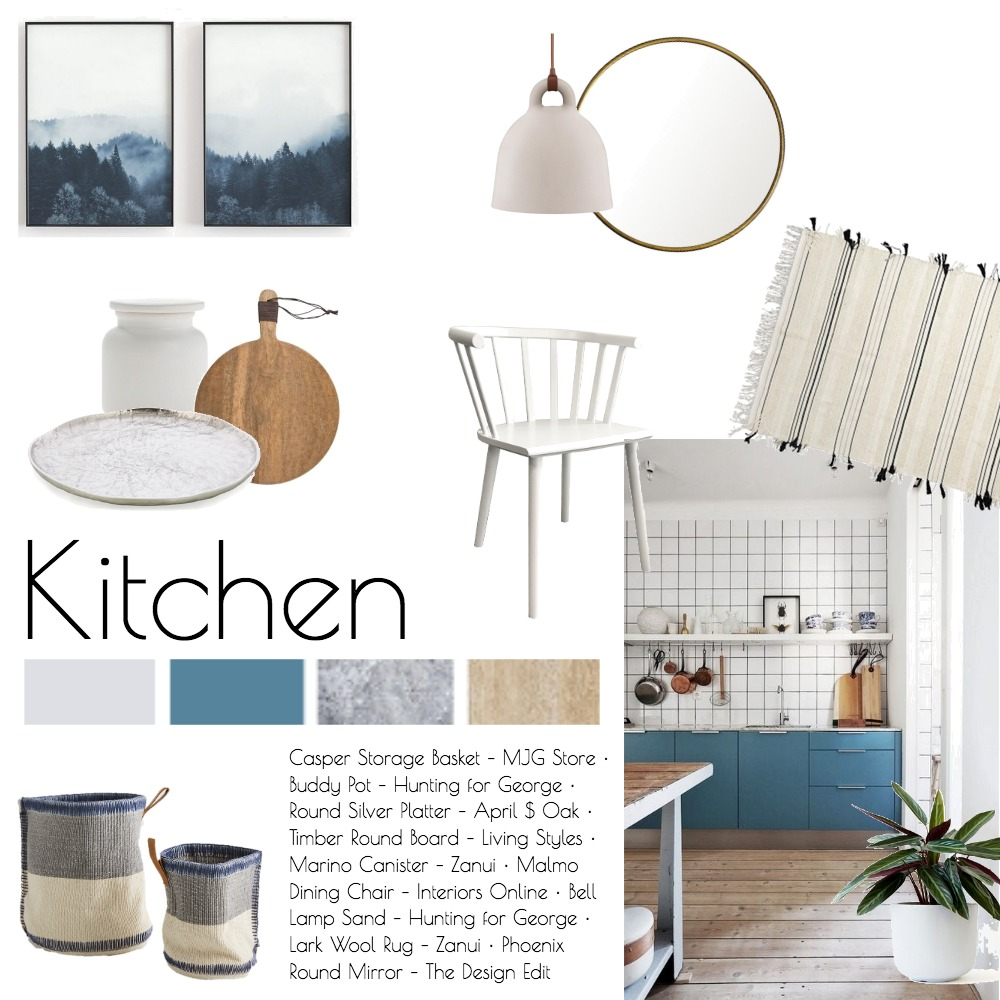 Nordic Kitchen Interior Design Mood Board by CocoonBotanic on Style Sourcebook