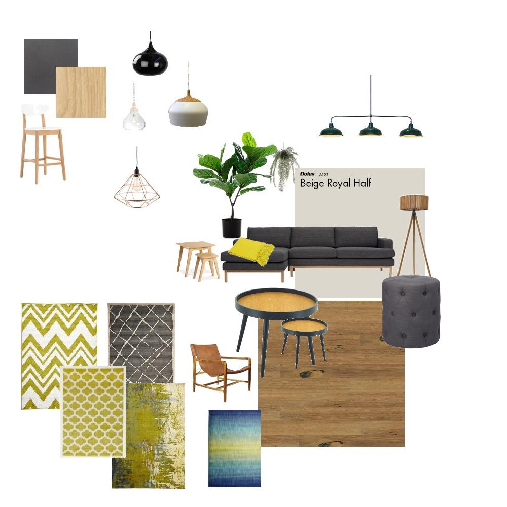 livingroom and kitchen Interior Design Mood Board by Gerda on Style Sourcebook