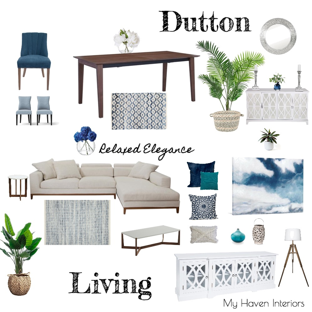 Dutton Living Interior Design Mood Board by SandraSargent on Style Sourcebook