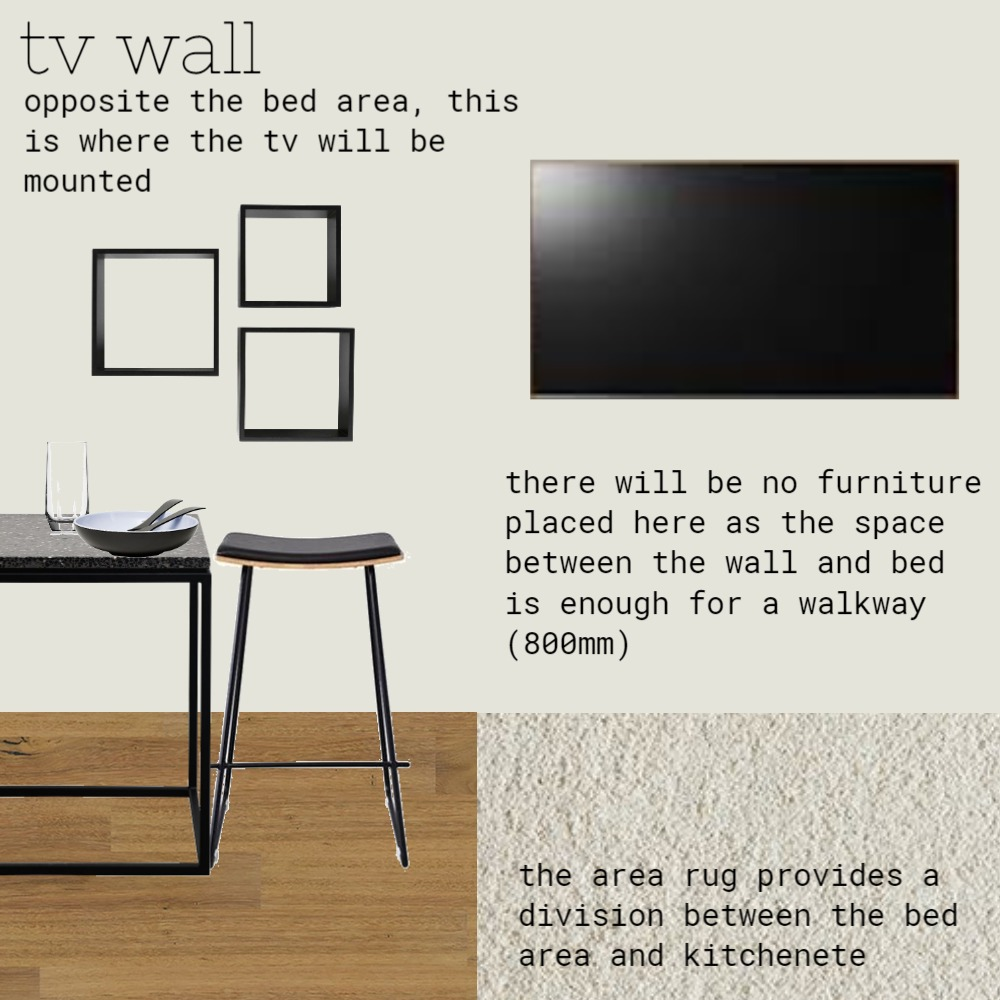 tv wall Interior Design Mood Board by pasperadesign on Style Sourcebook