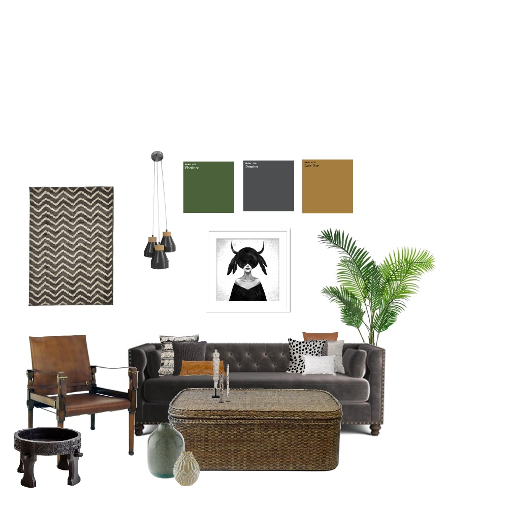 Eclectic Colonial Interior Design Mood Board by MeredithWatson on Style Sourcebook
