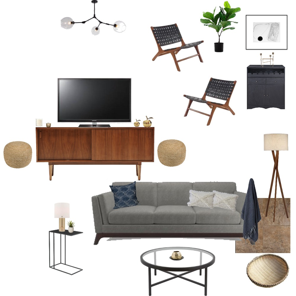 Fisher-Moffitt Living Room Interior Design Mood Board by hauscurated on Style Sourcebook