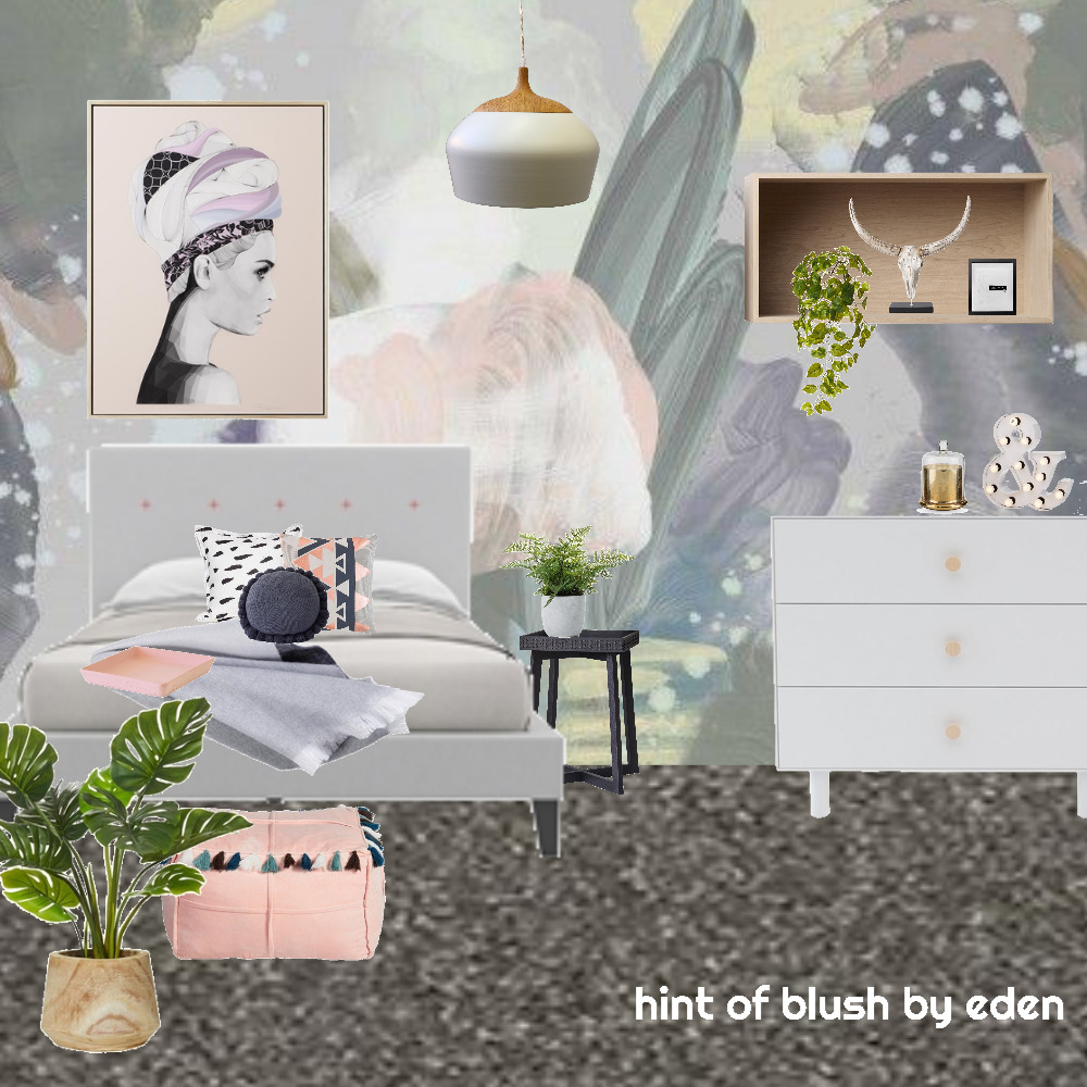 hint of blush by eden Interior Design Mood Board by edenparker4 on Style Sourcebook