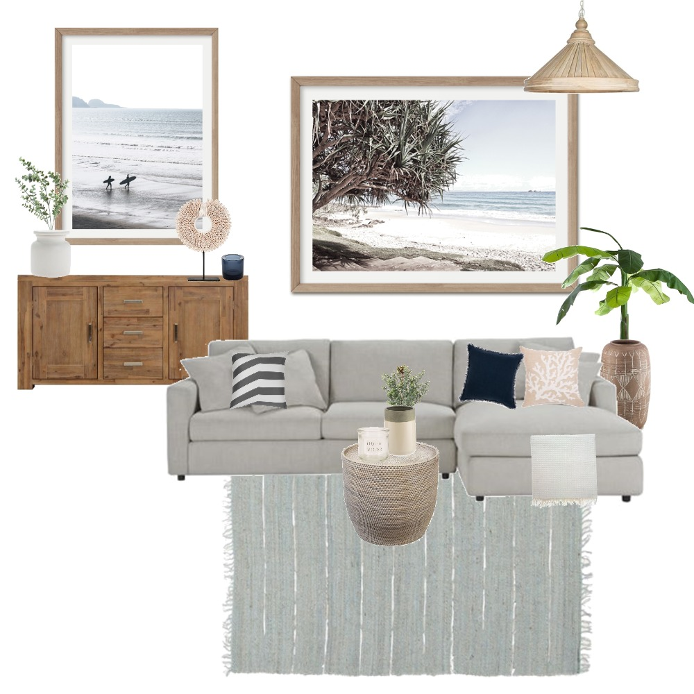 Modern Coastal Interior Design Mood Board by Boho Art & Styling on Style Sourcebook
