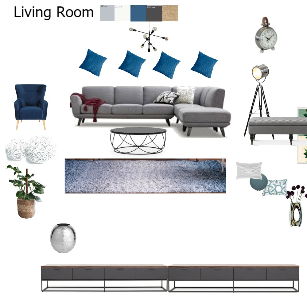 Living Room Anne St new Interior Design Mood Board by Rhoba on Style Sourcebook
