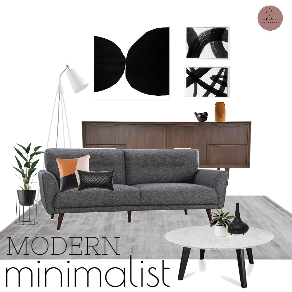 Modern Minimalist Interior Design Mood Board By Chicdesigns Style Sourcebook,One Bedroom Apartment Plans In Kenya