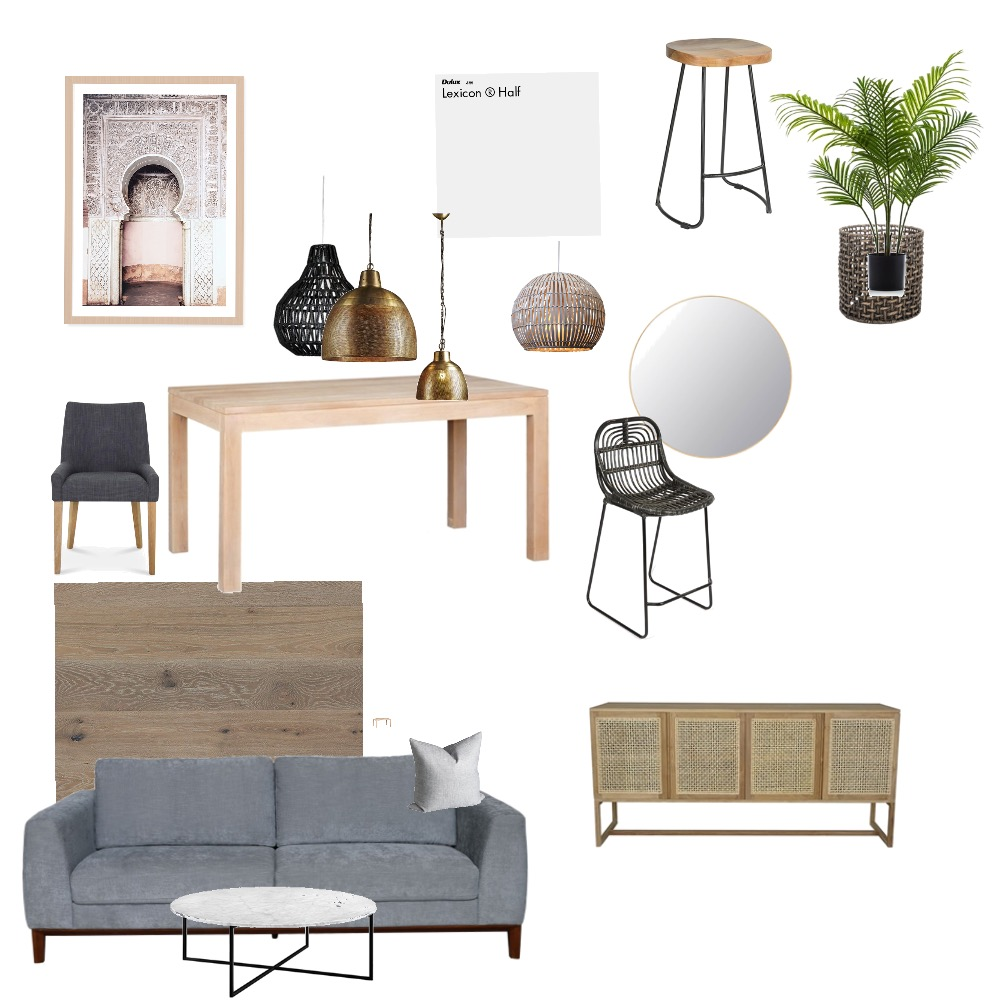 Mid Century Moroccon Interior Design Mood Board by Amandagelf on Style Sourcebook