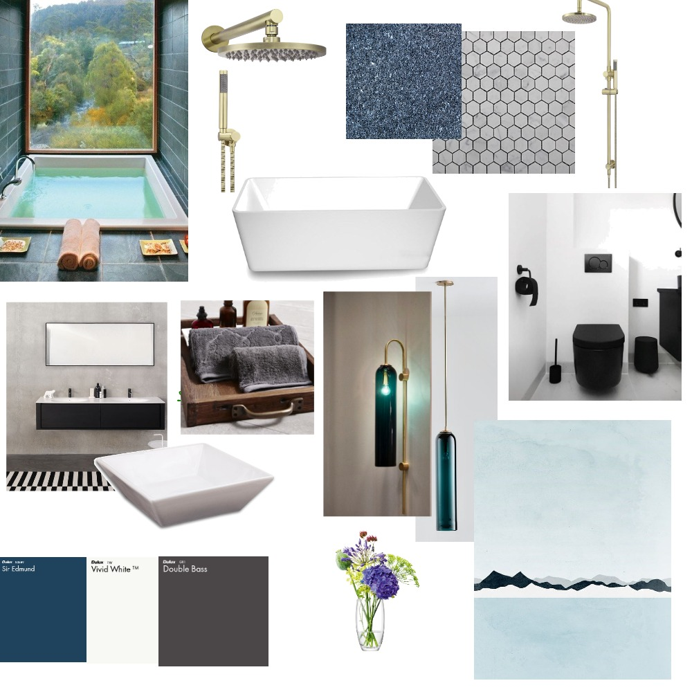 Minimalist Bathroom Interior Design Mood Board by nafisehirani on Style Sourcebook