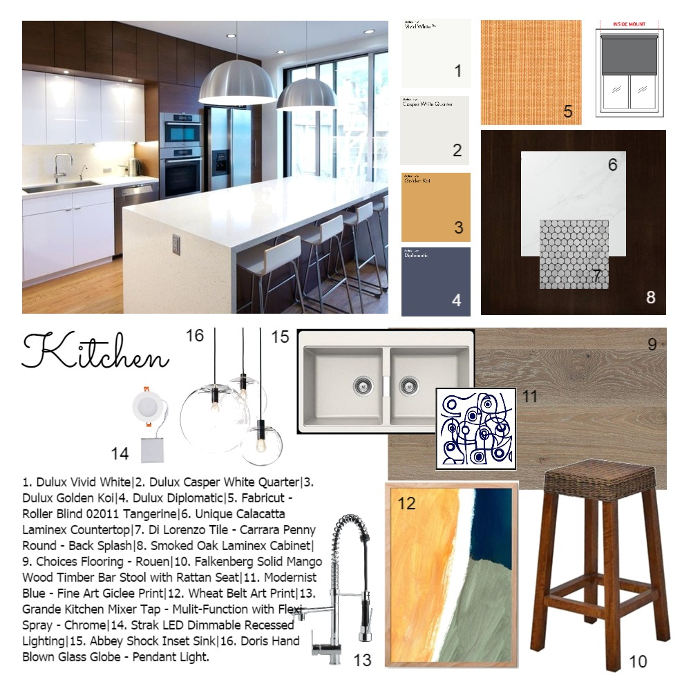 Module 9 Interior Design Mood Board by Sabatino on Style Sourcebook