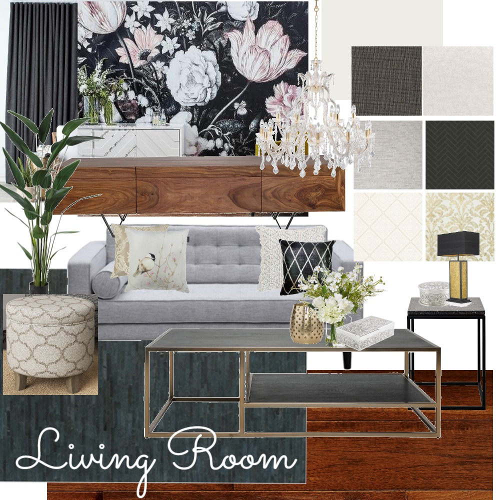 Living room Interior Design Mood Board by IrisMiguel on Style Sourcebook