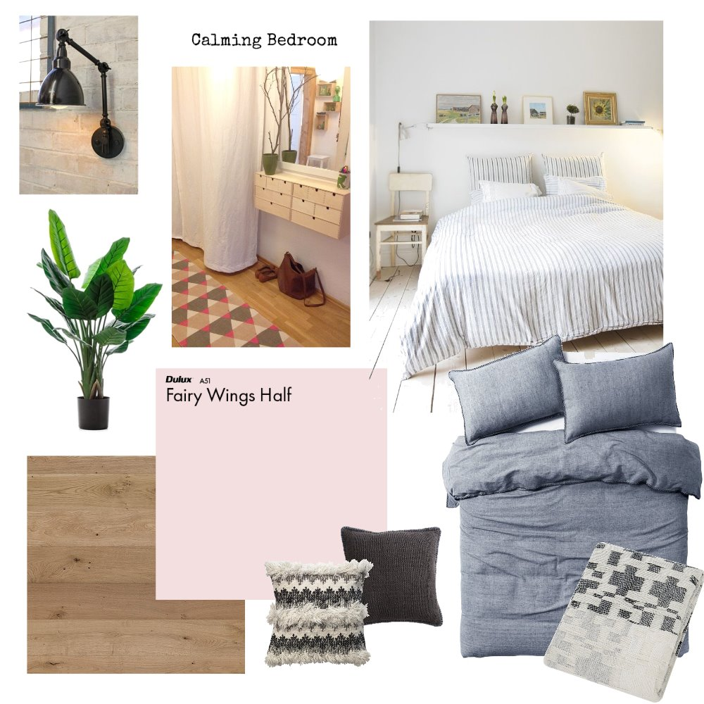 Calm Bedroom Interior Design Mood Board by donovaninthewild on Style Sourcebook