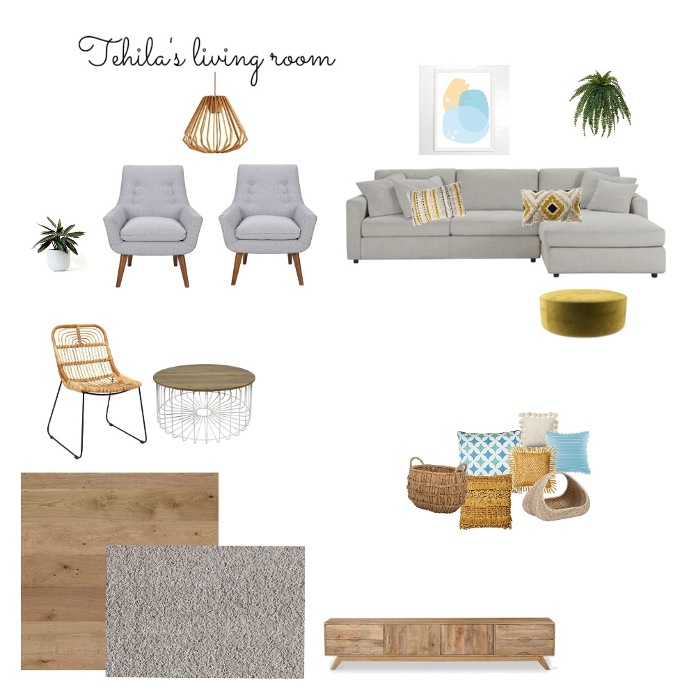 Tehila Interior Design Mood Board by mese on Style Sourcebook