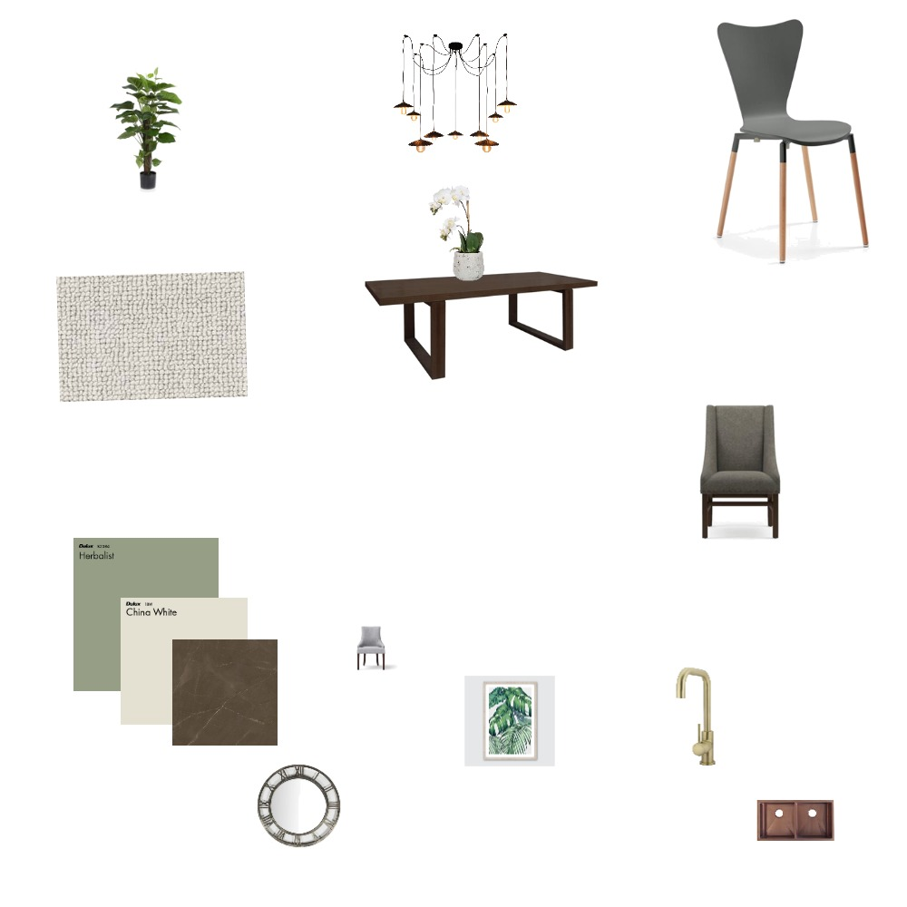 Yinka's dining Interior Design Mood Board by osi on Style Sourcebook