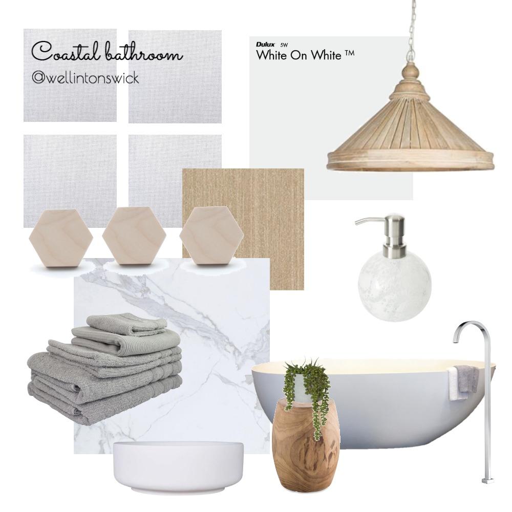 coastal bathroom Interior Design Mood Board by JessWell on Style Sourcebook