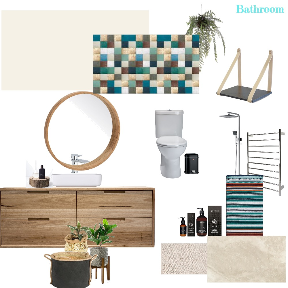 Bathroom assignment Interior Design Mood Board by Style A Space on Style Sourcebook