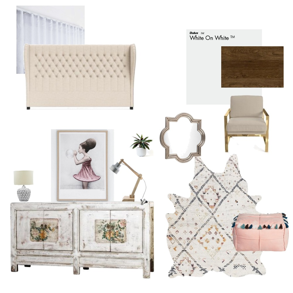 Bedroom 1 Interior Design Mood Board by Janique on Style Sourcebook
