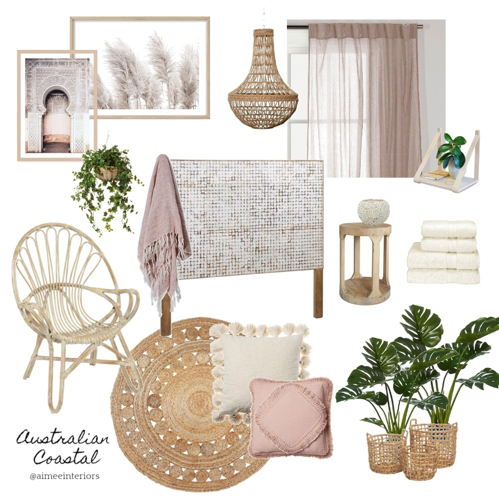 Australian Coastal Interior Design Mood Board by Aimee & Co. Interior Styling on Style Sourcebook