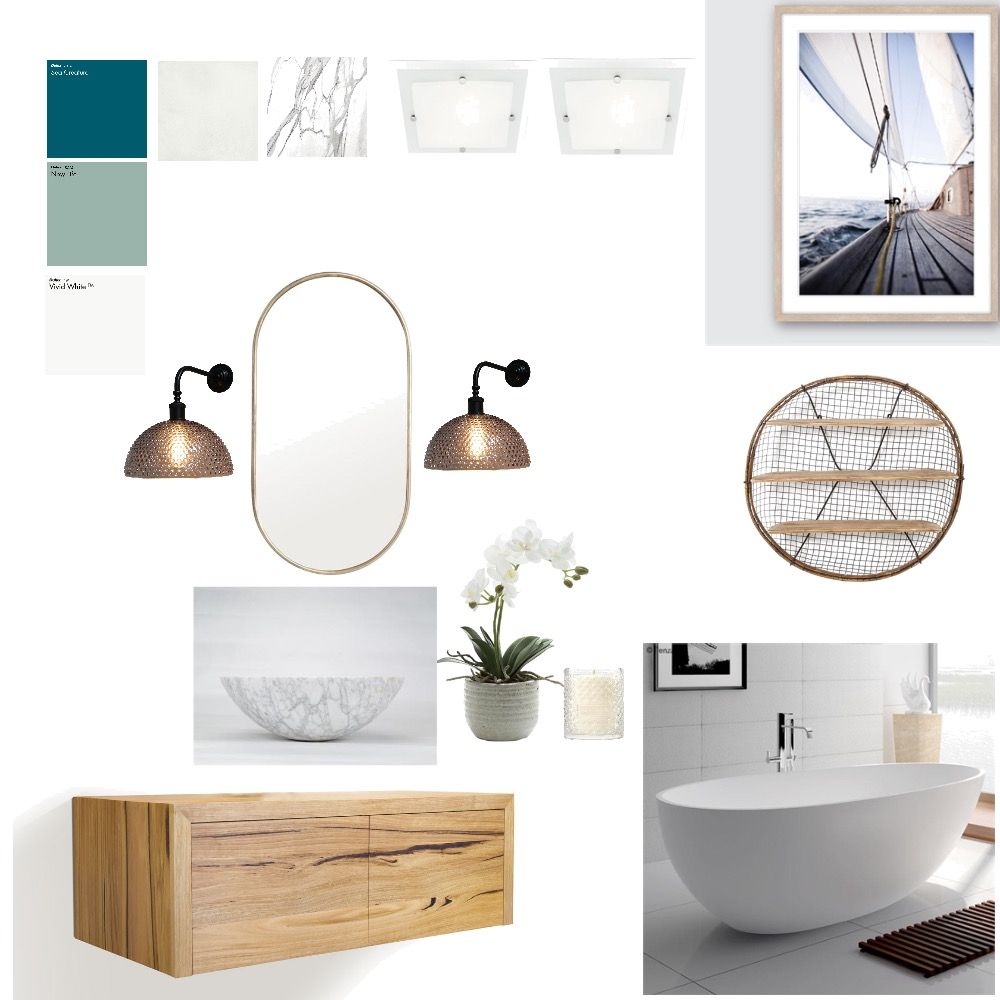 Bathroom Interior Design Mood Board by Danica on Style Sourcebook