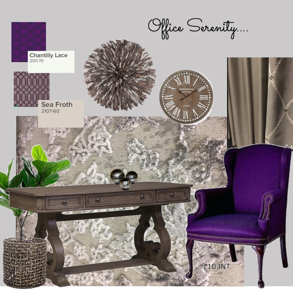 Office Serenity Interior Design Mood Board by Catleyland on Style Sourcebook