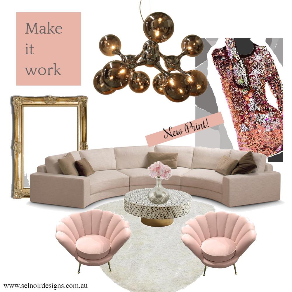 Vogue living Interior Design Mood Board by Sel Noir Designs  on Style Sourcebook