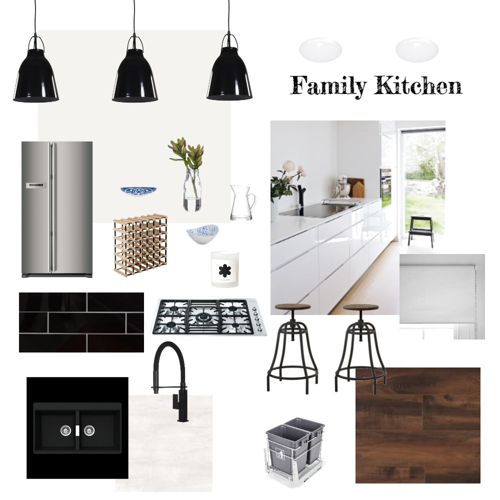 Family Kitchen Interior Design Mood Board by Nataylia on Style Sourcebook
