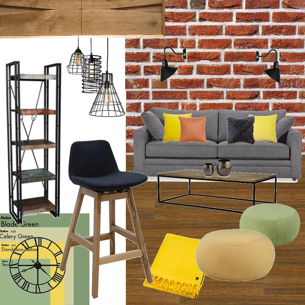 Industrial3 Interior Design Mood Board by Helu on Style Sourcebook