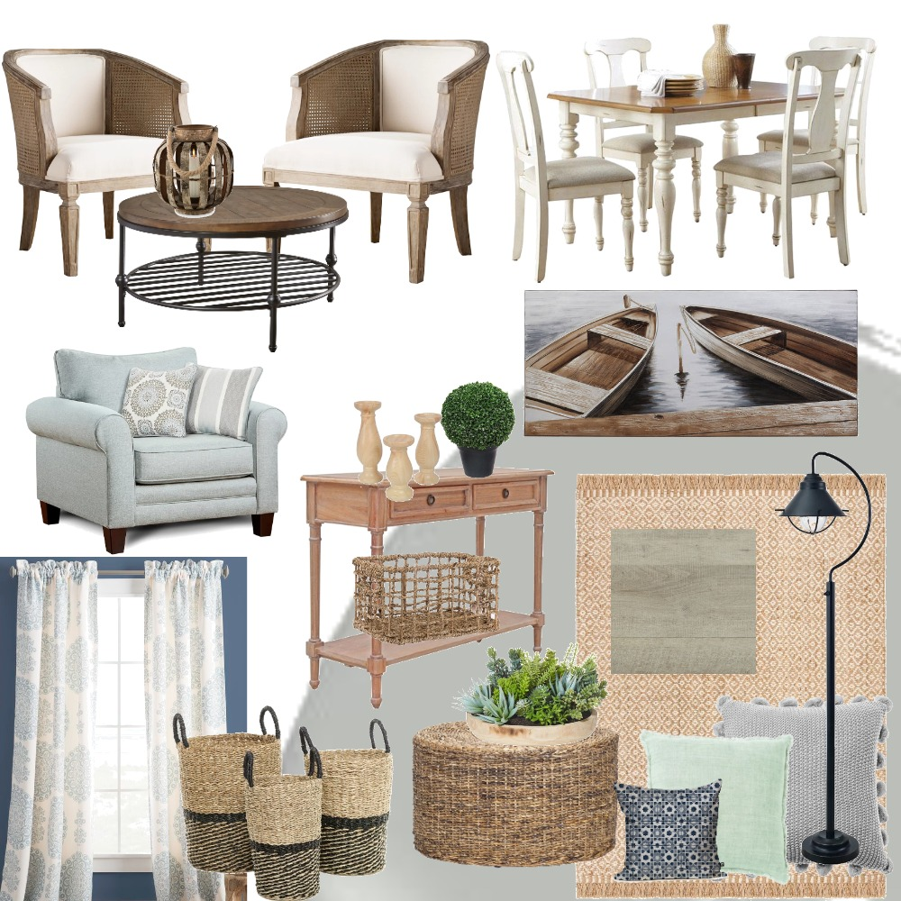 Kristin main floor Interior Design Mood Board by GracieRose on Style Sourcebook
