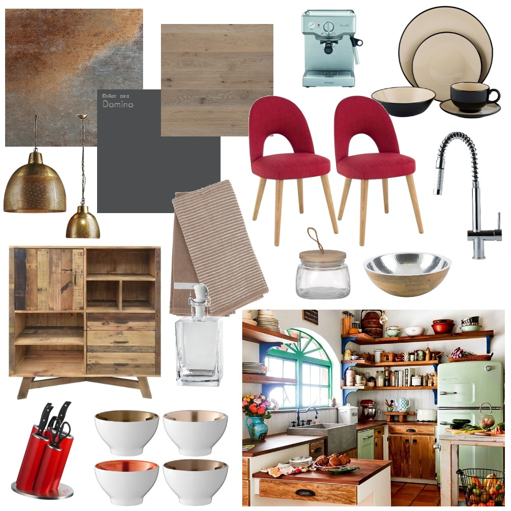 eclectic kitchen Interior Design Mood Board by angelajsutton on Style Sourcebook