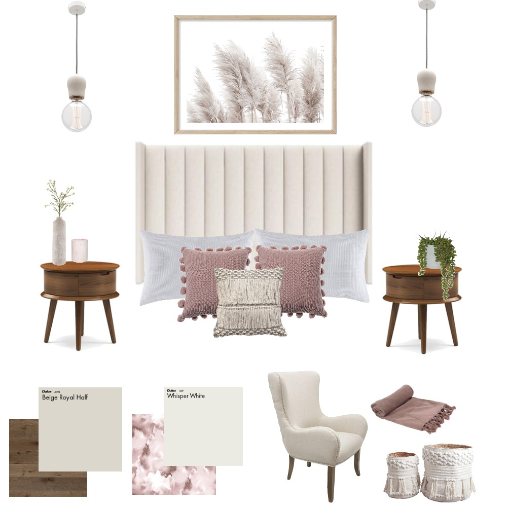 Bedroom Bliss Interior Design Mood Board by Eliza Grace Interiors on Style Sourcebook
