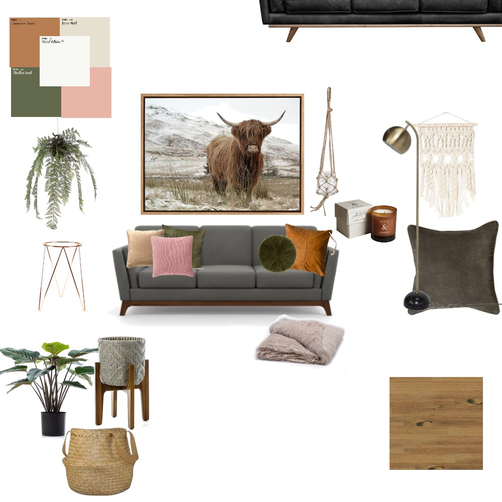 rustic southern living room Interior Design Mood Board by rousse1121 on Style Sourcebook