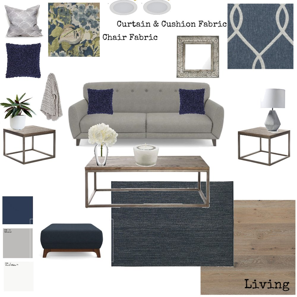 Living Interior Design Mood Board by AnnaMorgan on Style Sourcebook