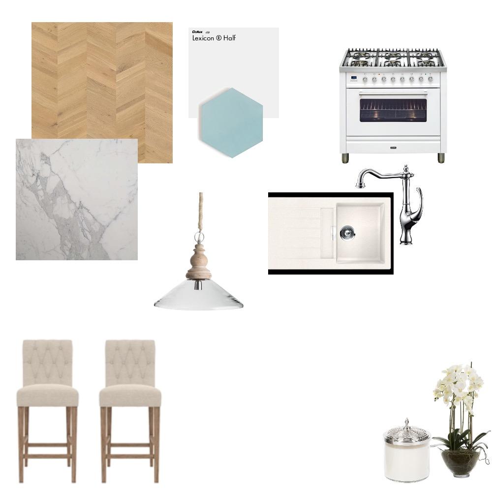Hampton's kitchen Interior Design Mood Board by HayleeM on Style Sourcebook