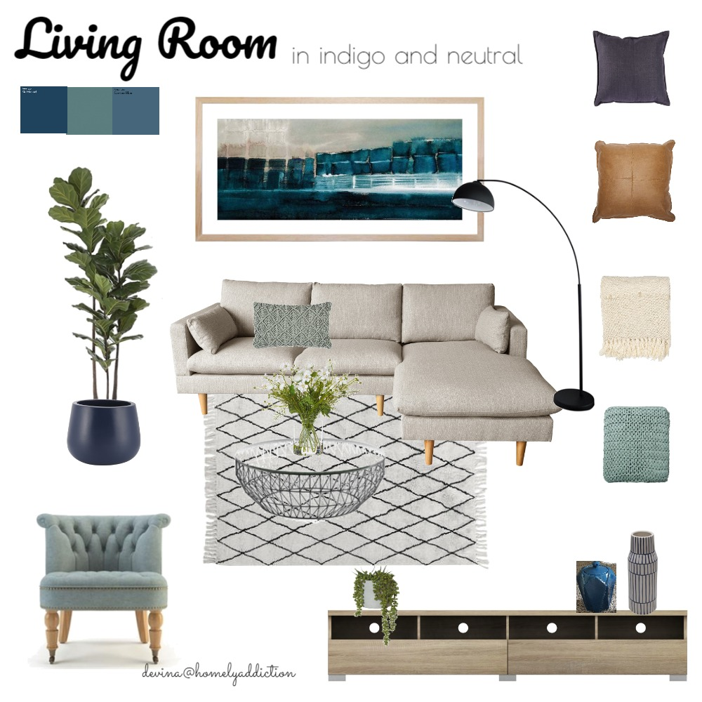Living area Anum Interior Design Mood Board by HomelyAddiction on Style Sourcebook