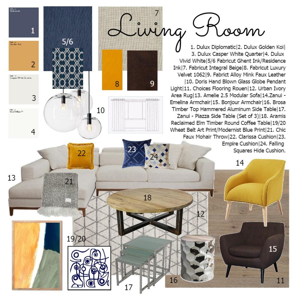 Module 9 Interior Design Mood Board by Sabatino on Style Sourcebook