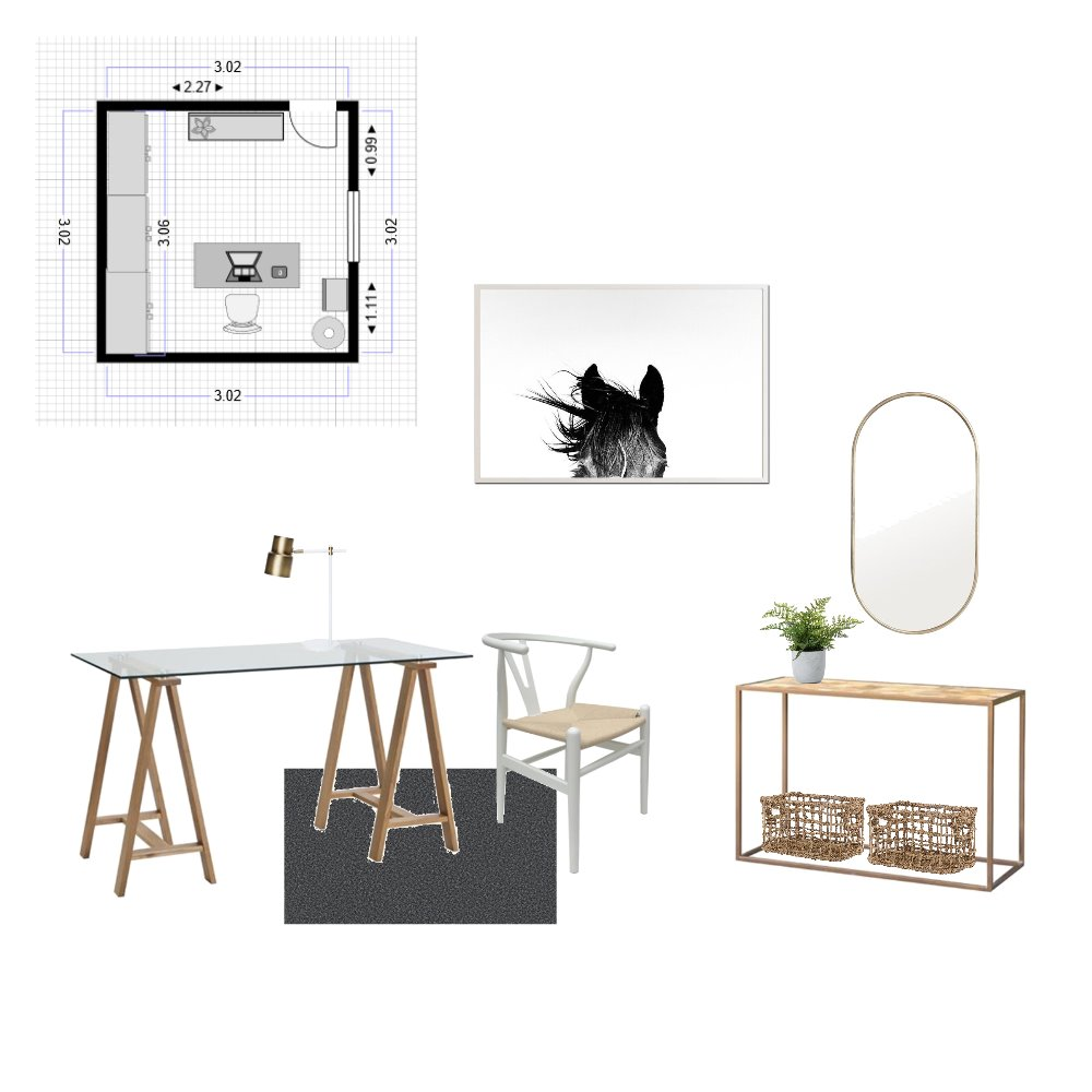 Study 1 Interior Design Mood Board by HudsonPeacockInteriors on Style Sourcebook