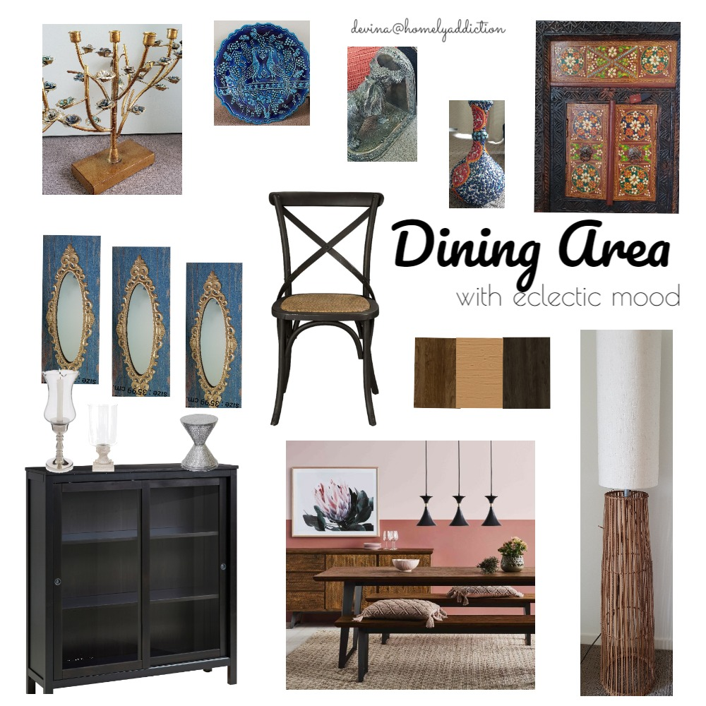 Dining room Anum Interior Design Mood Board by HomelyAddiction on Style Sourcebook