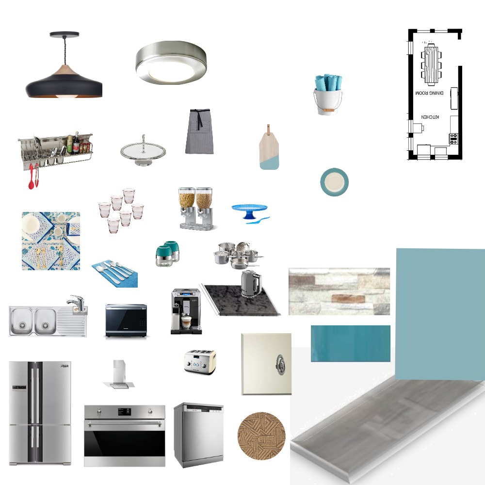 Mood board Kitchen Interior Design Mood Board by NadF on Style Sourcebook