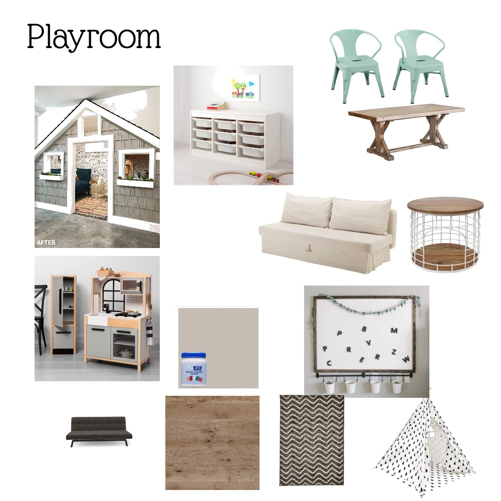 K&K Playroom Interior Design Mood Board by Amber0920 on Style Sourcebook