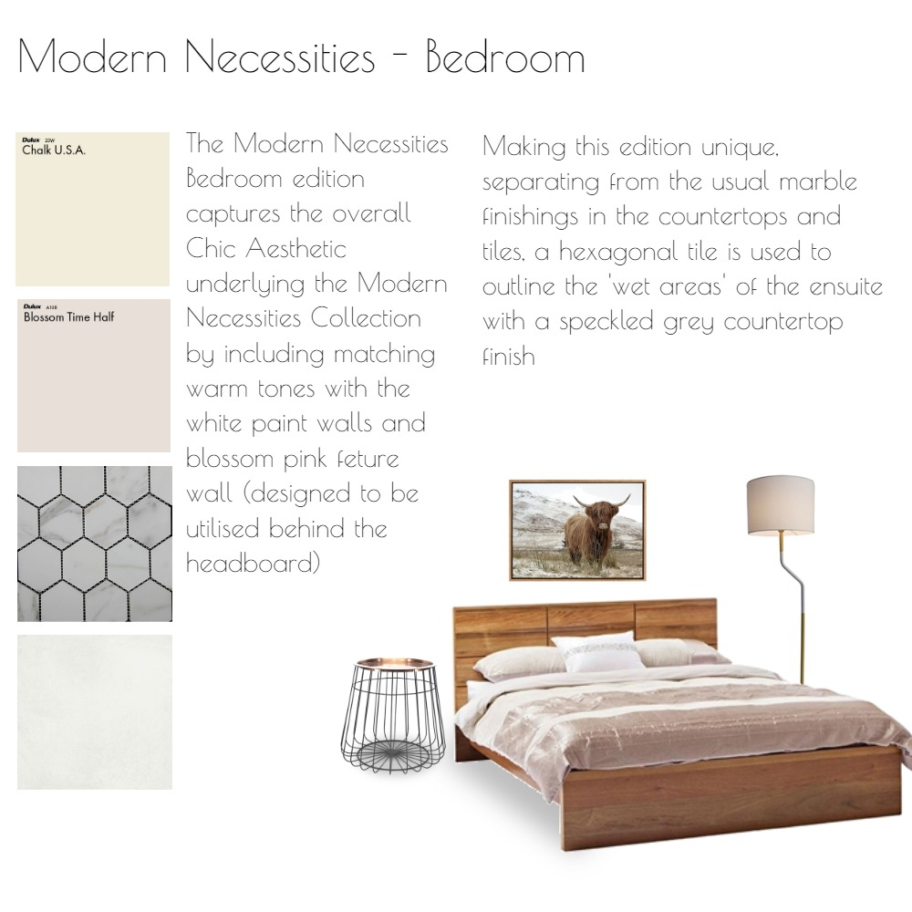 Modern Necessities - Master Bedroom Interior Design Mood Board by KGrosvenor on Style Sourcebook