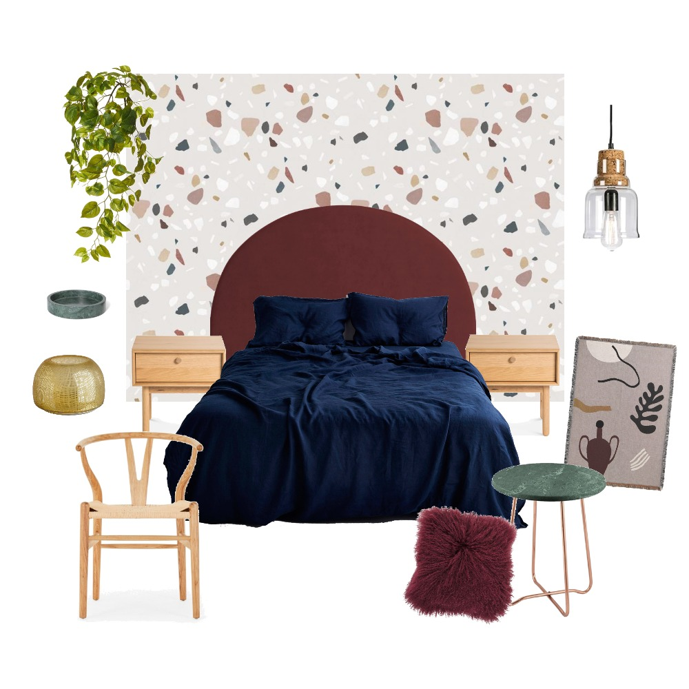 Terrific Terrazzo Interior Design Mood Board by Wallpaper Trader on Style Sourcebook