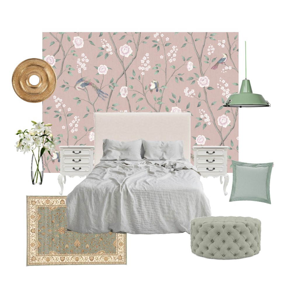 Cocochin Interior Design Mood Board by Wallpaper Trader on Style Sourcebook
