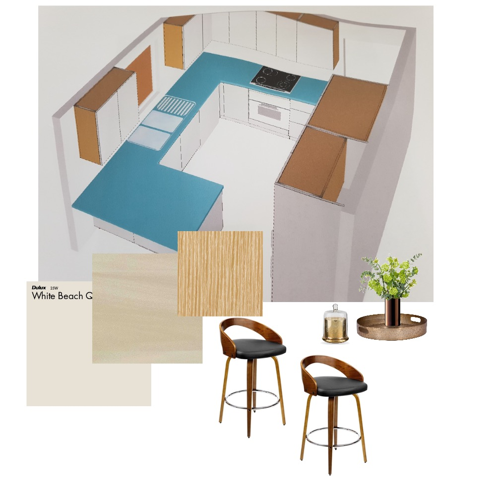 kitchen Trish Interior Design Mood Board by Style A Space on Style Sourcebook