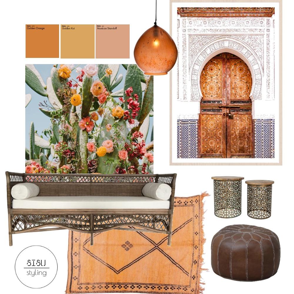 Moroccan Verandah Interior Design Mood Board by Sisu Styling on Style Sourcebook