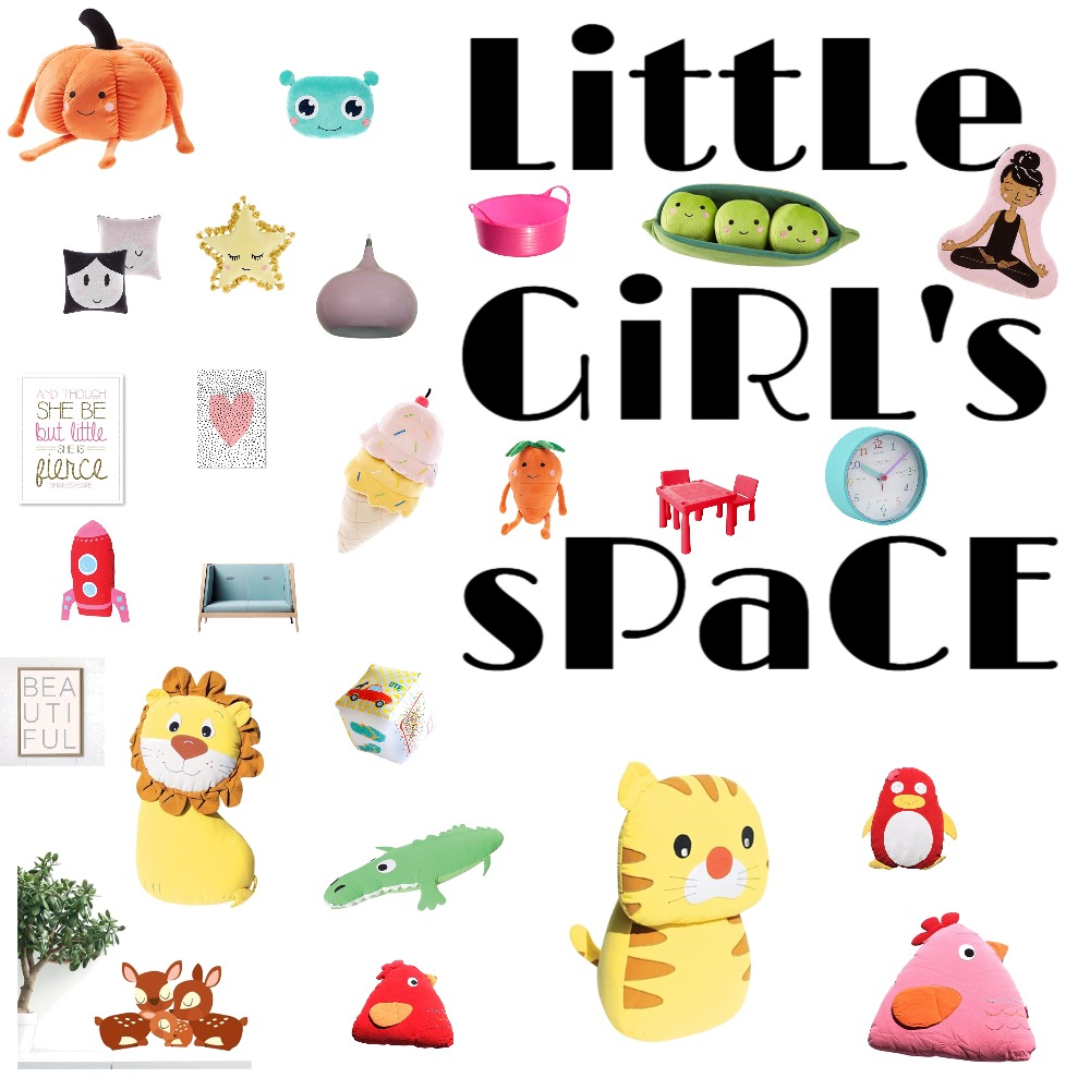 Little Girl's Space Interior Design Mood Board by Pizzuti on Style Sourcebook